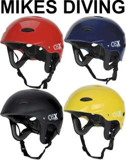 WATER SPORTS HELMET Red Blue Yellow Black kayak canoe osprey safety in