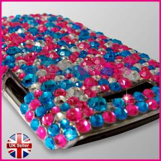 DIAMOND BLING GLITTER CRYSTAL GEM CASE COVER FOR BLACKBERRY CURVE 9350