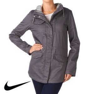 Womens Nike 6.0 M6.0 Parka Jacket   Dark Grey