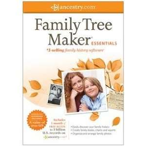 Family Tree Maker Essentials Printed Quick Start Guide Sm Box Home