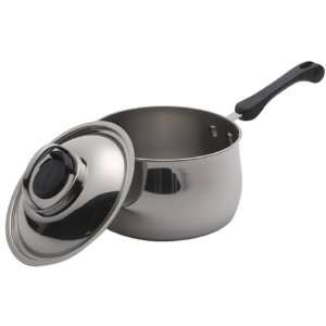 Farberware Vintage 3 Quart Stainless Steel Saucepan with Lid: