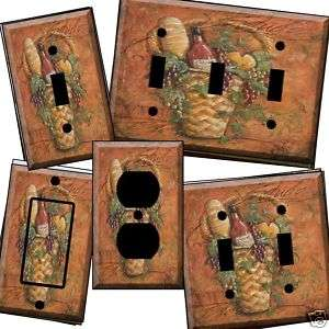 Tuscan rd Cabernet Light Switch Cover wall plate