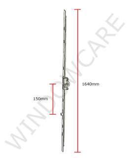 SI TRIAL 3 GR 3 PATIO DOOR LOCK TILT & SLIDE 1640mm