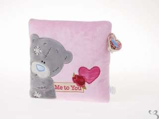 ME TO YOU TATTY TEDDY BEAR PINK FLORAL CUSHION PILLOW