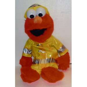 18 Elmo; Sesame Street Fire Department Elmo; Plush Stuffed Toy Doll