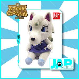 Nintendo Animal Crossing Bandai Peluche Bianca Plush