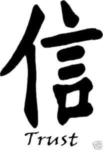 Chinese Symbols For Trust Chinese Trust Name Pic...