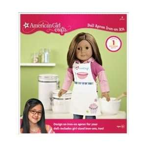American Girl Iron On Kit Doll Apron; 3 Items/Order Home
