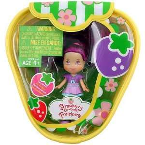 : Hasbro Strawberry Shortcake Mini Doll [Plum Pudding]: Toys & Games