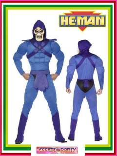 Costume Carnevale Adulto Skeletor   He Man #10373