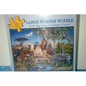 Large Format Puzzle   #00 Pieces Peaceable Kingdom Toys & Games