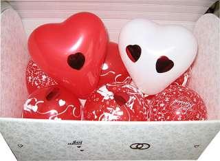 Geldgeschenke Hochzeit TRUHE mit Ballons,Tauben,Ringe