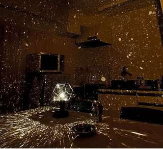 Amazing Romantic Celestial Star Projector Lights Lamp
