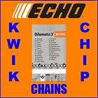 12 30cm Echo Genuine Stihl Chainsaw Chain 3/8 PM 1.3m