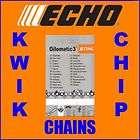 12 30cm Echo Genuine Stihl Chainsaw Chain 3/8 PM 1.3m