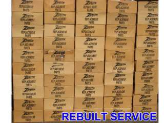 REPAIR SERVICE ZENITH CRT CONSOLE TV CHASSIS