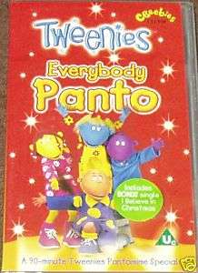 BBC ~ TWEENIES EVERYBODY PANTO *SEALED*