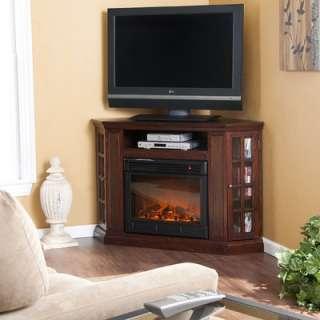 Wildon Home Belgrave Slate Electric Fireplace in Espresso   DTO7250F