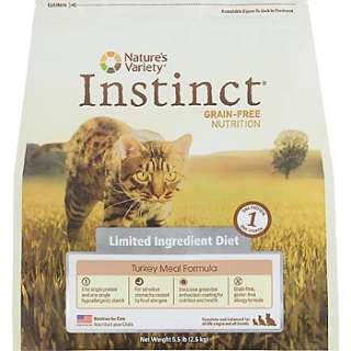 Home Cat Food Natures Variety Instinct Grain Free Limited Ingredient