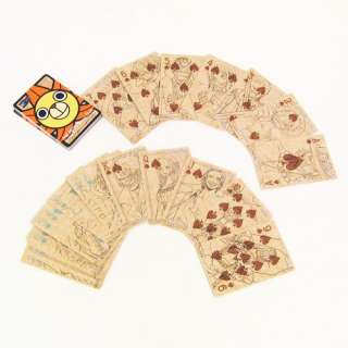 ONE PIECE ANIME CHARACTERS TRUMP POKER PLAYING CARDS