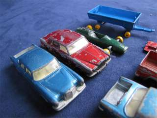 Lot Of 7 Vintage Matchbox Lesney Die Cast Cars & Truck