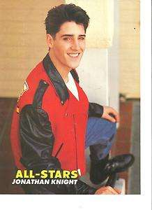 on the Block, Jonathan Knight, Donnie Wahlberg, Full Page Pinup, NKOTB