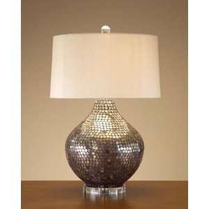 Metallic Mosaic Lamp: Home Improvement