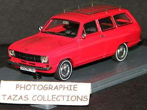 OPEL KADETT BREAK CARAVAN ROUGE   NEO SCALE MODELS 1/43 Ref NEO43701