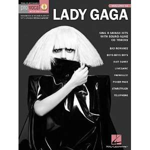 Lady Gaga   Pro Vocal Womens Edition Volume 54   Book and CD Package