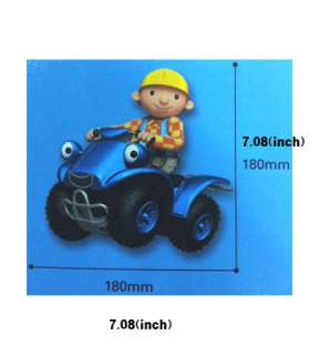 Bob the Builder HOME Decor WALLPAPER MURAL WALL CUTE STICKER 2011 NEW