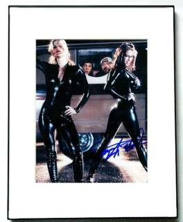 Shannon Elizabeth Autographed Tight Leather Signed Photo PSA UACC RD