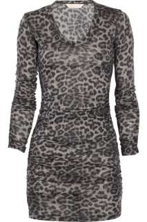 Rebecca Taylor Animal print cotton blend dress   50% Off Now at THE