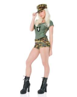 Playboy Sexy Boot Camp Adult Womens Costume