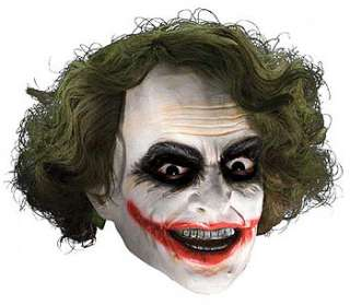 Superhero Costumes Joker Costumes Child Deluxe Joker Mask with Hair