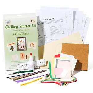 Lake City Crafts Quilling Starter Kit for Paper Crafting