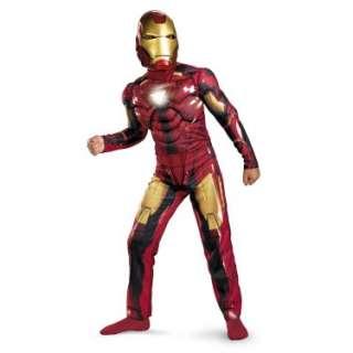 Iron Man 2 (2010) Movie   Mark VI Light Up Deluxe Child Costume 69708