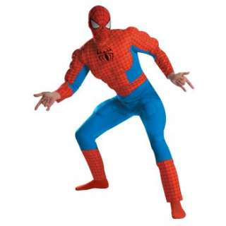 Spider Man Deluxe Muscle Adult Costume Ratings & Reviews   BuyCostumes