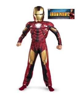 Classic Muscle Iron Man Mark Vi Costume for Boys  Wholesale Boys TV