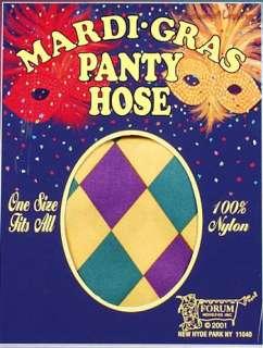 Mardi Gras Pantyhose
