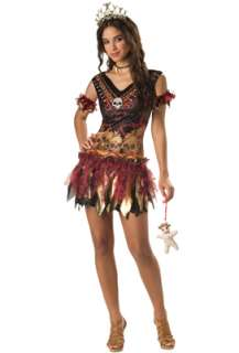 Voodoo Vixen Teen Costume for Halloween   Pure Costumes