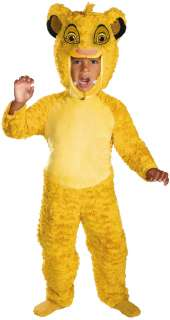 The Lion King   Simba Toddler / Child Costume   Includes jumpsuit