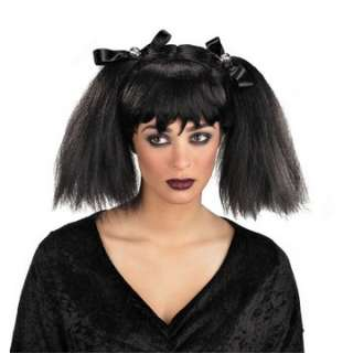 Dead Pigtails Wig   Dead Head Hair A sexy Goth style adult female