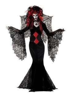 Nightmare Black Widow Costume   Gothic Halloween Costumes   15MR147067