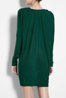 By Malene Birger  Peacock Green Nahuda Jersey Drape Dress by By