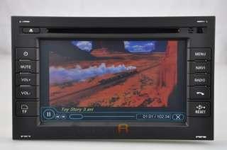VW Passat Volkswagen DVD GPS Navigation Radio 2 Double Din 01 02 03 04