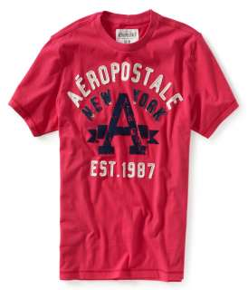 aeropostale mens aero new york emblem graphic t shirt