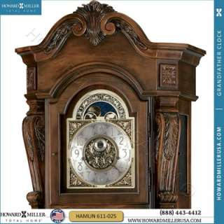 Howard Miller Majestic Curio Grandfather Clock Dining Accent Furniture