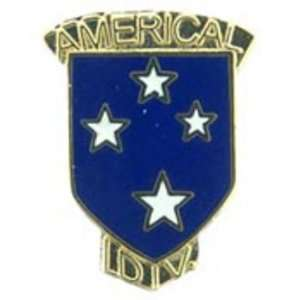 U.S. Army 23rd Infantry Division Pin with Tab 1 Arts