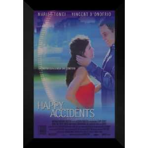 Happy Accidents 27x40 FRAMED Movie Poster   Style A