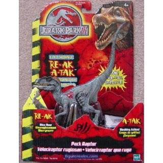 Raptor from Jurassic Park III Electronic RE AK A TAK Action Figure